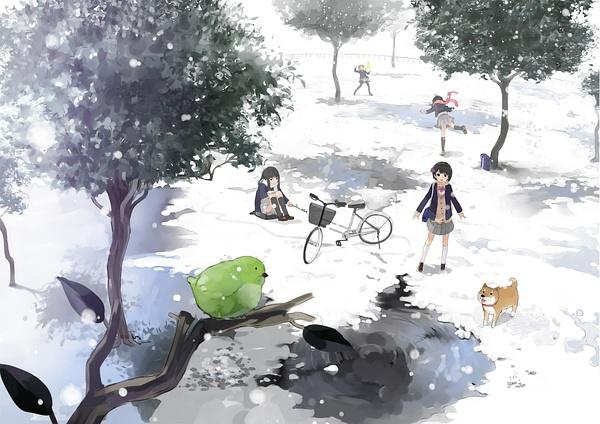 如冬日白雪,明亮融化